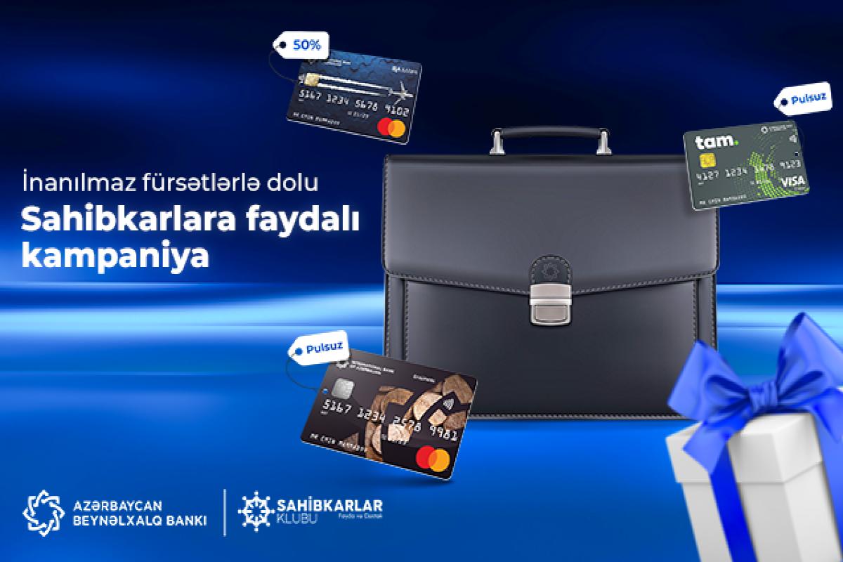 Azərbaycan Beynəlxalq Bankı sahibkarlar üçün kampaniya keçirir