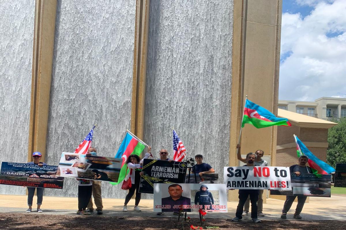 Protest rally held in Texas regarding Armenia