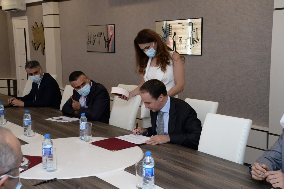 DSK və UNICEF arasında birgə İş Planı imzalanıb - <span class=