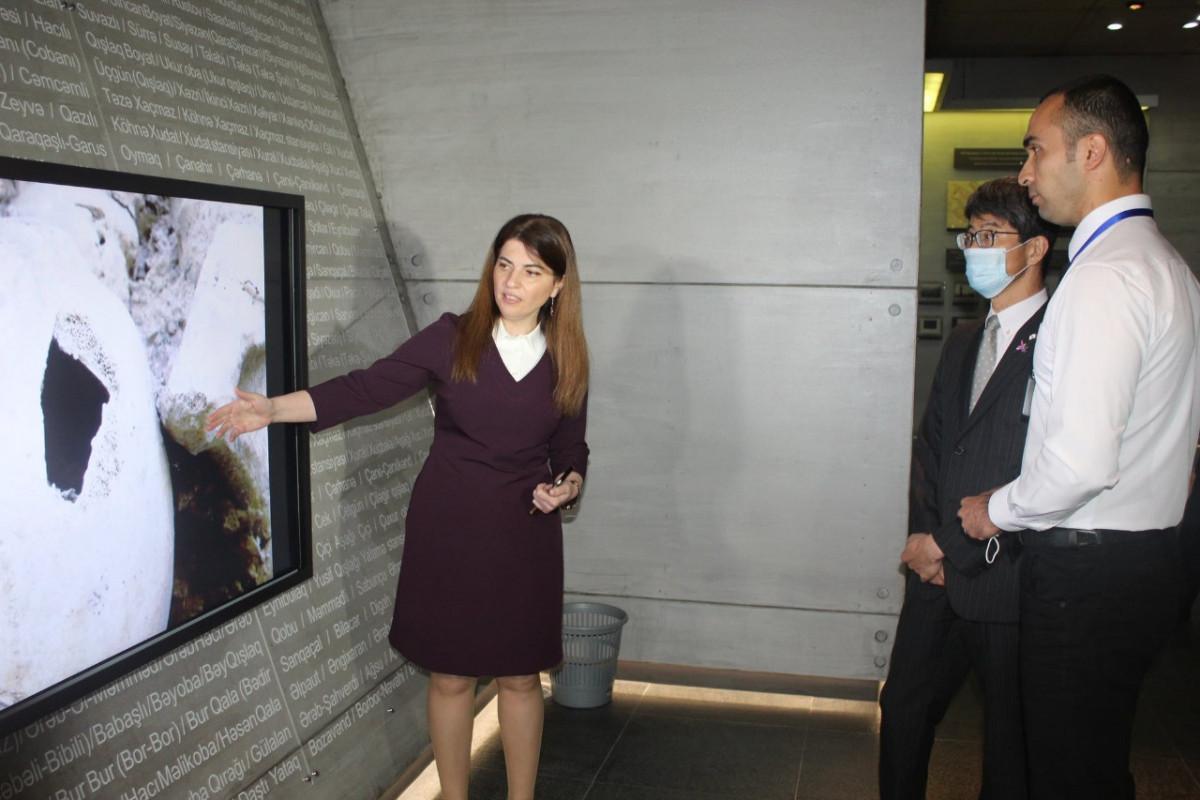 "Japan ambassador visited Guba Genocide Memorial Complex-<span class=""red_color"">PHOTO"