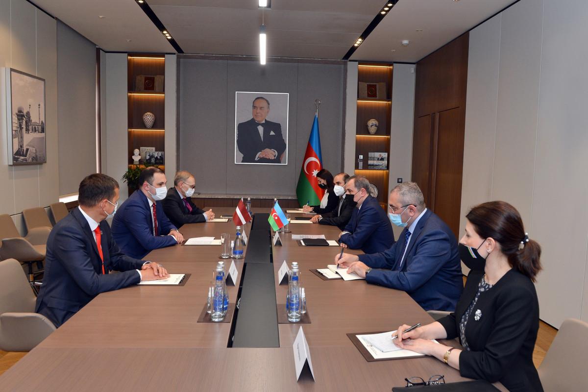 Azərbaycan və Latviya parlamentləri arasında əlaqələrin genişləndirilməsi müzakirə edilib