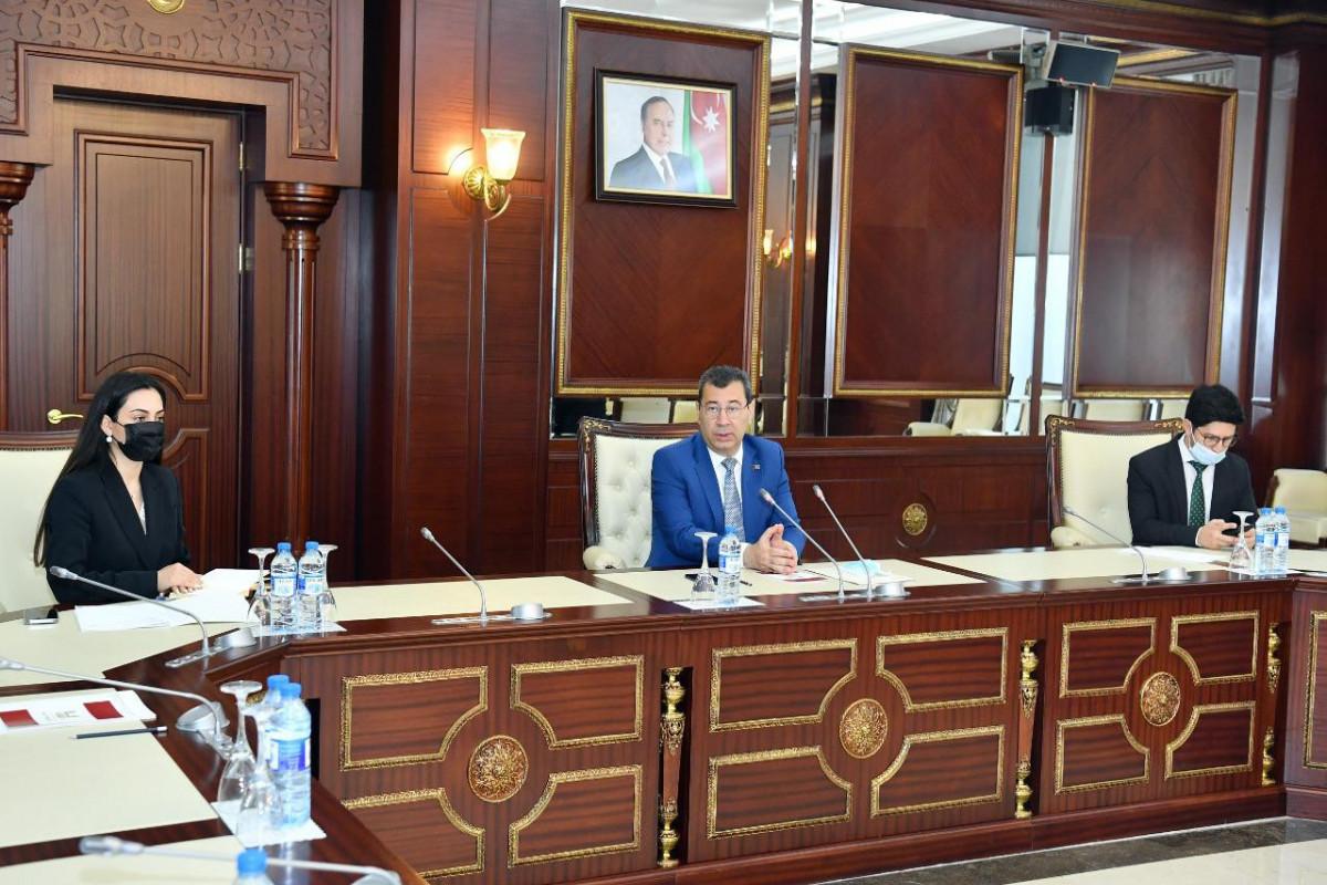 Состоялось подготовительное заседание к летней сессии ПАСЕ делегации Милли Меджлиса