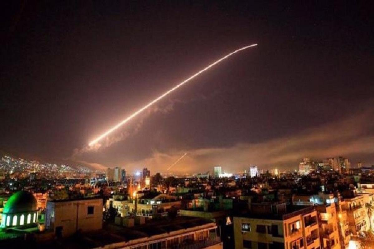 Syria intercepts Israeli missile strike over Damascus -state media
