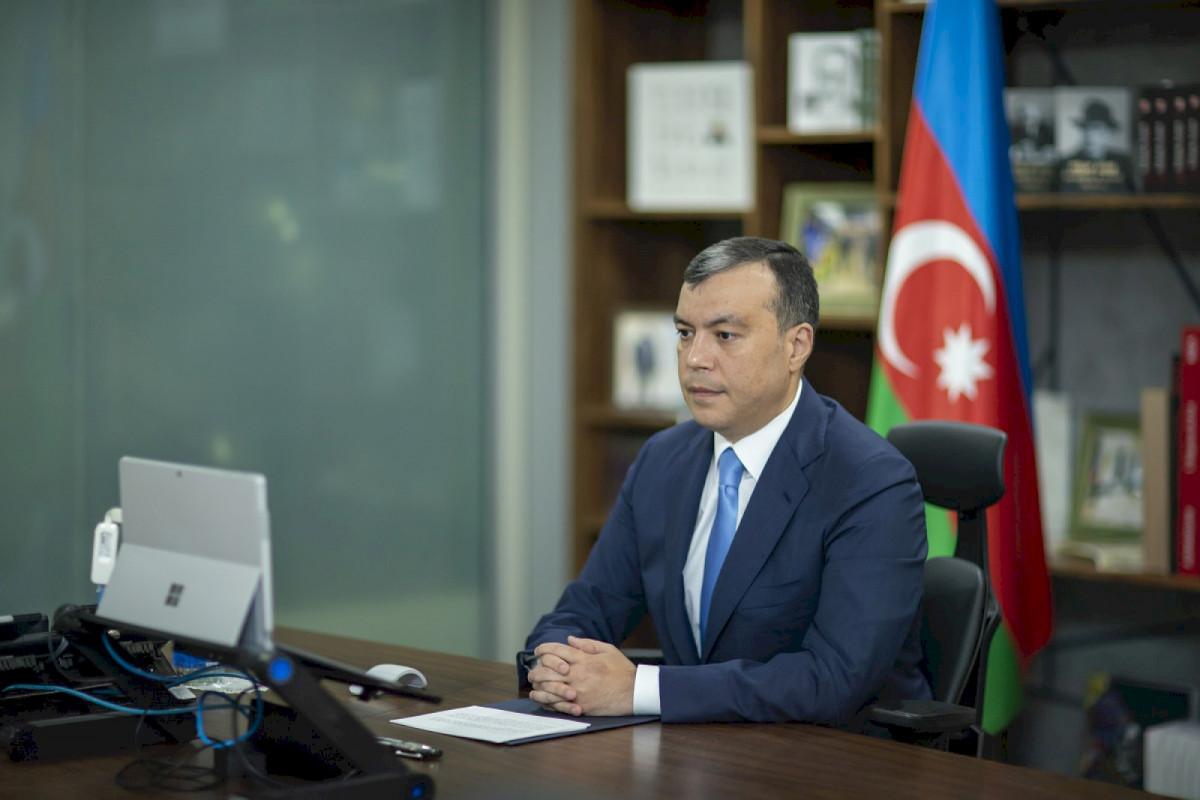Sahil Babayev BƏT-in 109-cu sessiyasında çıxış edib