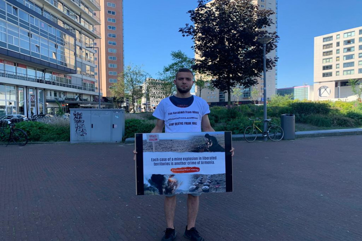 Protest rally held in Netherland cities against Armenia