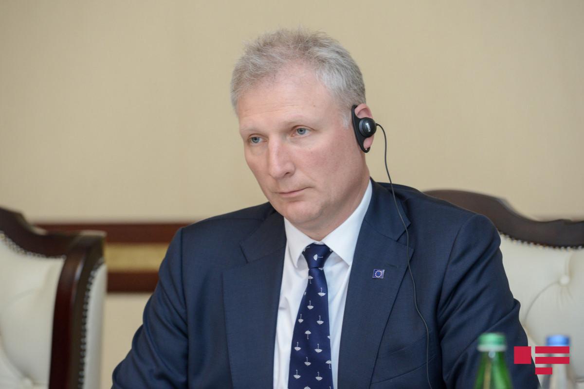 "Ambassador: ""EU is ready to support delimitation and demarcation of Azerbaijani-Armenian borders"""