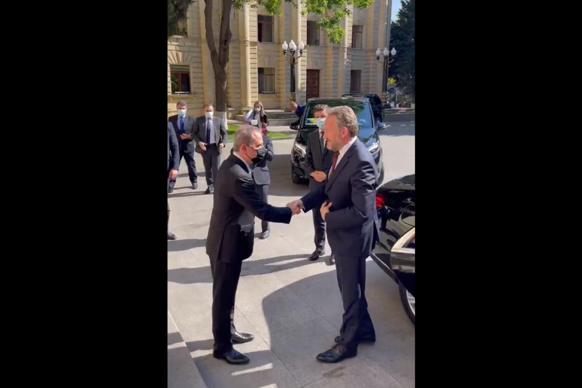 Ceyhun Bayramov Bosniya və Herseqovinanın parlament nümayəndə heyəti ilə görüşüb - <span class=