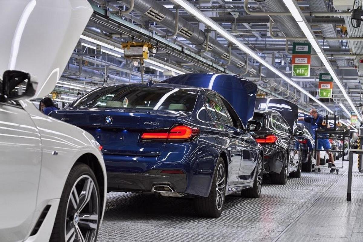 BMW mikrosxem çatışmazlığına görə istehsalı azaldacaq