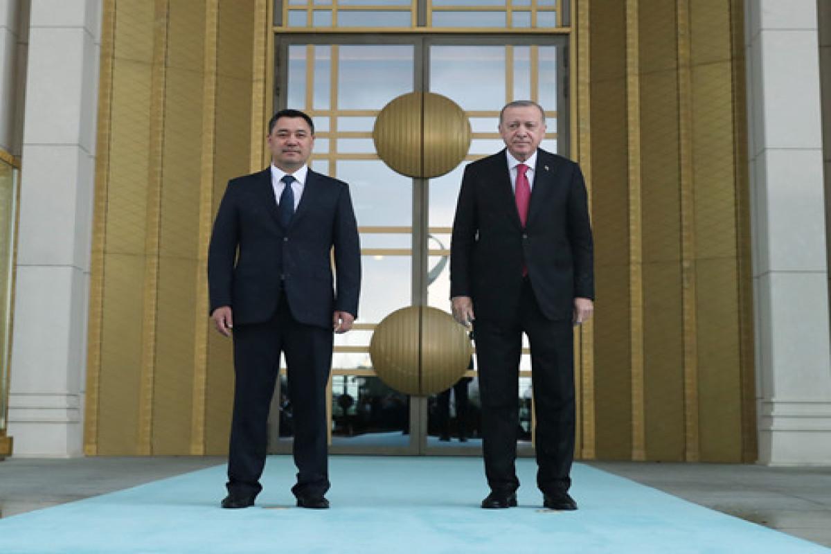 В Анкаре состоялась встреча президентов Турции и Кыргызстана