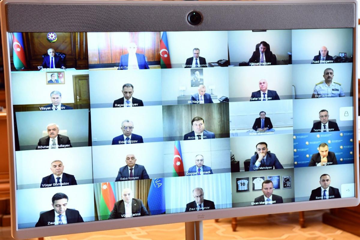 Nazirlər Kabinetində Avro-2020-nin final oyunlarına hazırlıq işləri müzakirə olunub