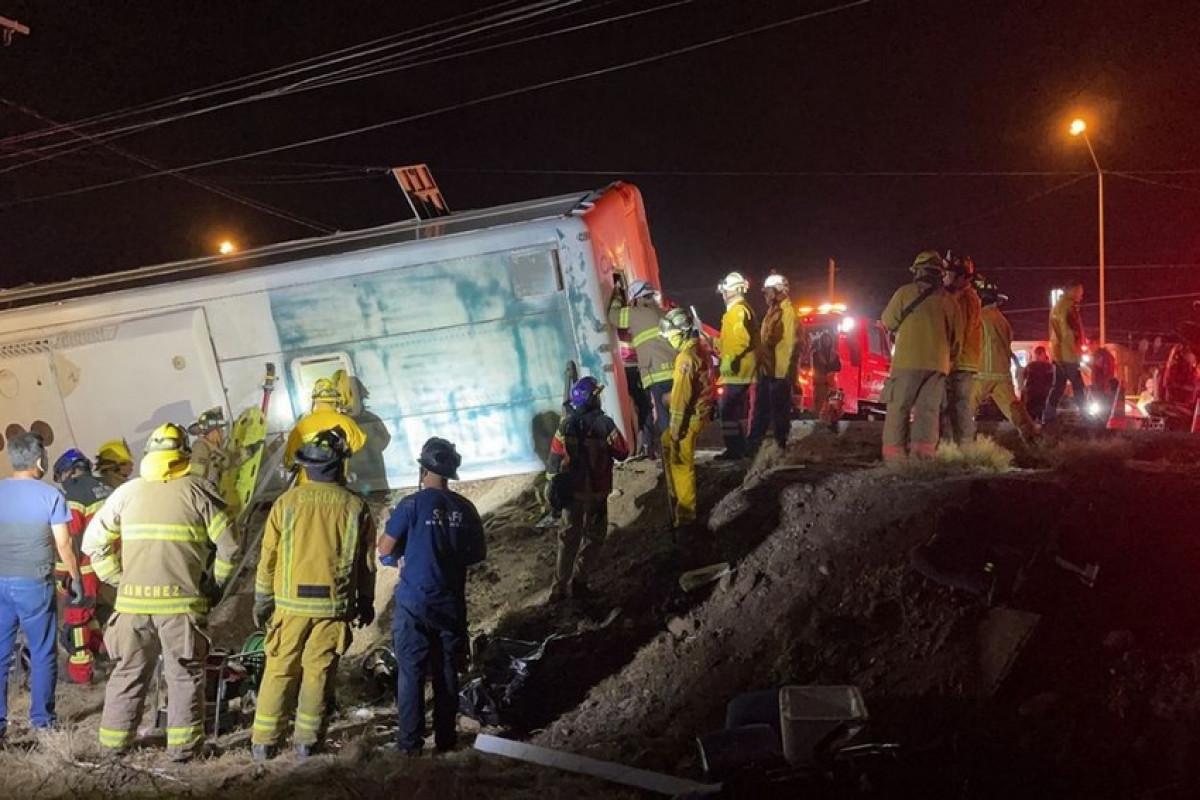 В Мексике семь человек погибли в ДТП с туристическим автобусом