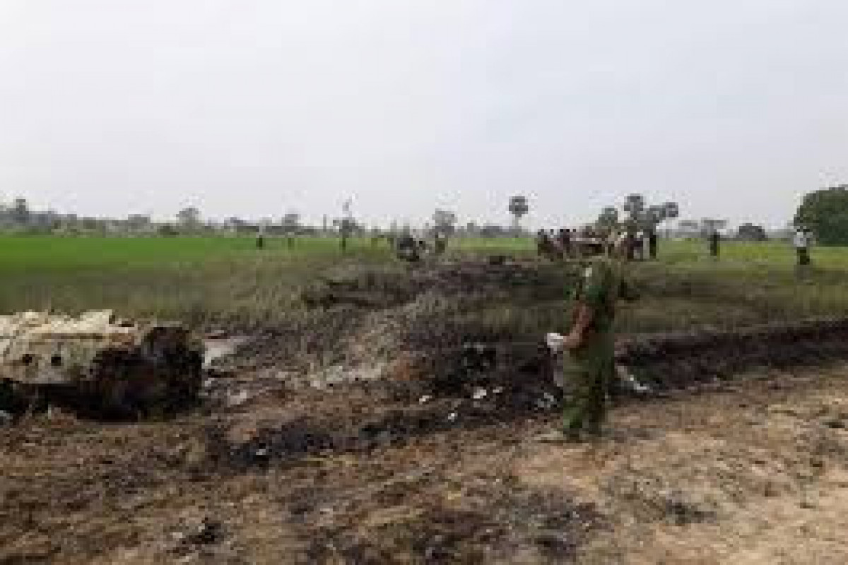 12 reportedly killed in Air Force plane crash in Myanmar