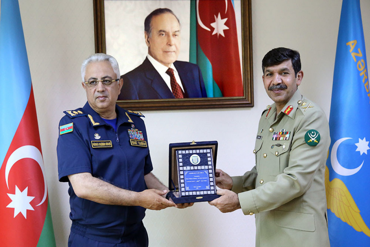 Azərbaycanla Pakistan arasında hərbi aviasiya sahəsində əməkdaşlıq müzakirə olunub