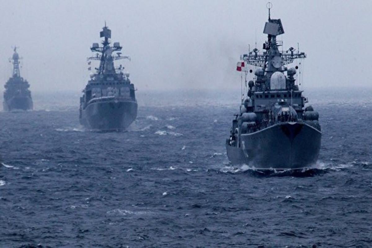 Rusiya donanması Sakit okeanda təlimlərə başlayıb