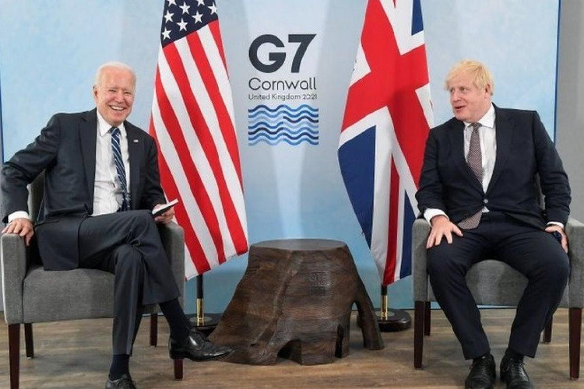 Conson və Bayden G7 sammiti öncəsi görüşüb