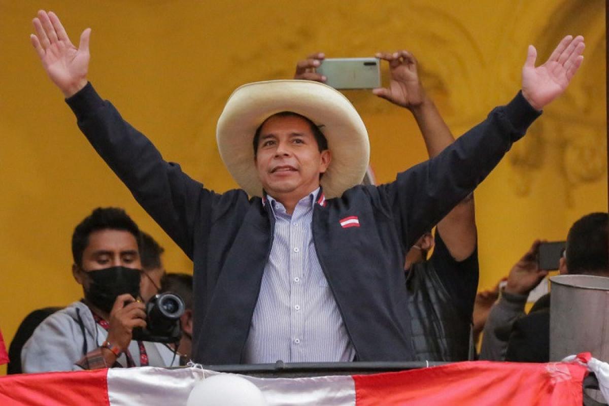 Peruda Pedro Kastilyo prezident seçkilərində qalib gəlib