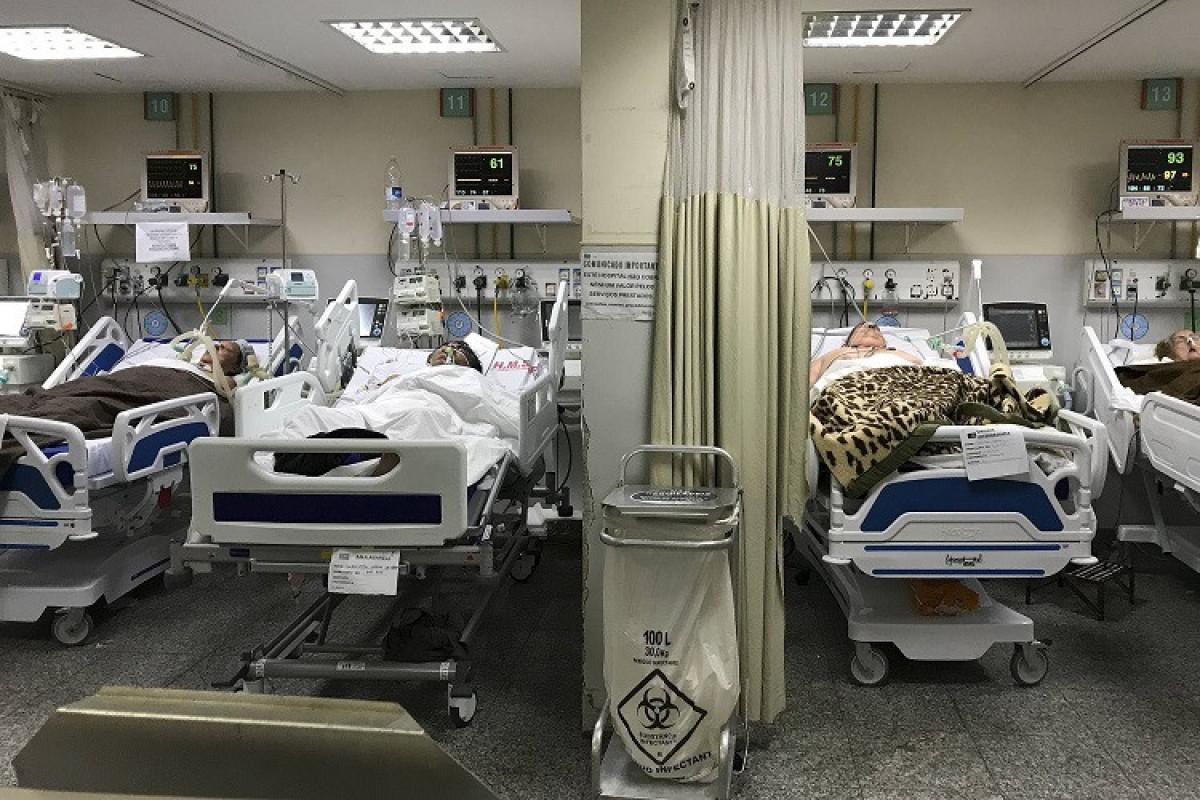 Braziliyada bir gündə 2,5 min nəfər koronavirusdan ölüb