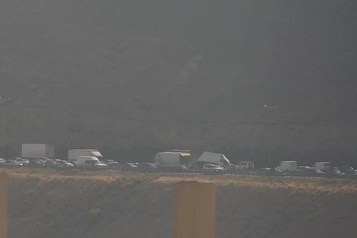 Lökbatan dairəsi istiqamətində ağır yol-nəqliyyat hadisəsi baş verib