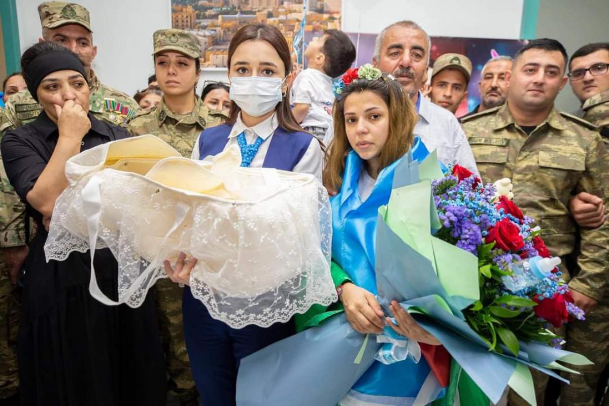 Фонд «YAŞAT» возместил необходимые расходы новорожденных детей еще 3 шехидов