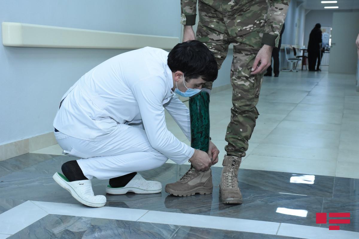Daha 8 qazi müasir protezlərlə təmin olunub