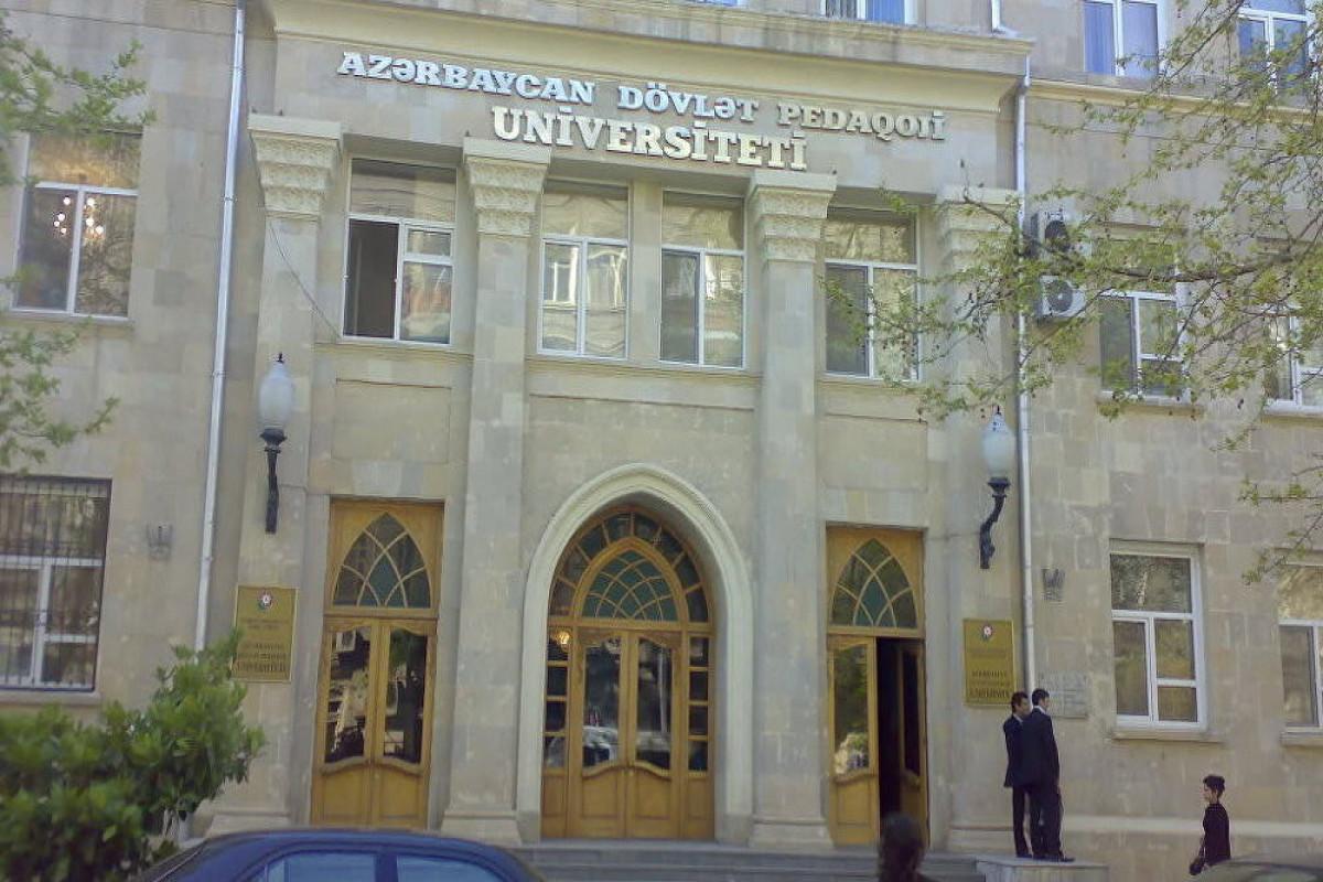 """Prorektor: """"Pedaqoji Universitetin Vətən müharibəsində 11 şəhidi olub"""""""