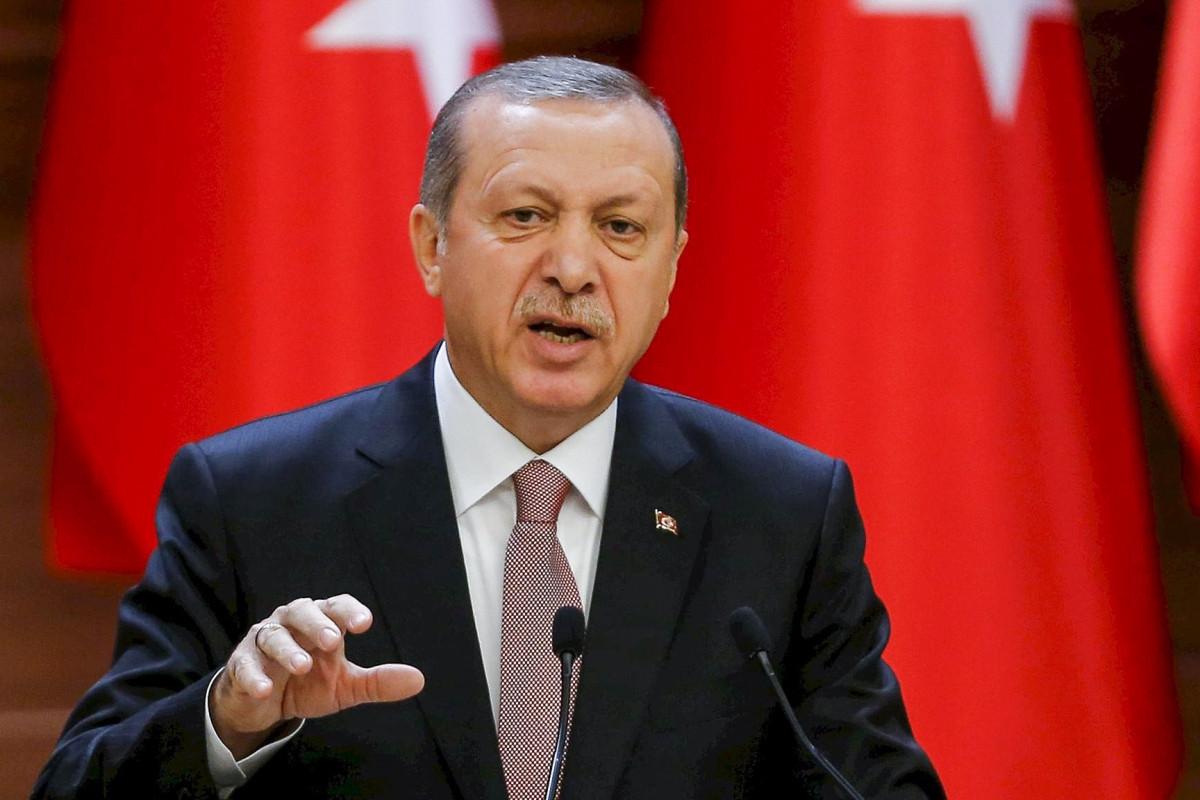 Эрдоган: Мы поднимем вопрос об отказе Армении предоставить карты минных полей