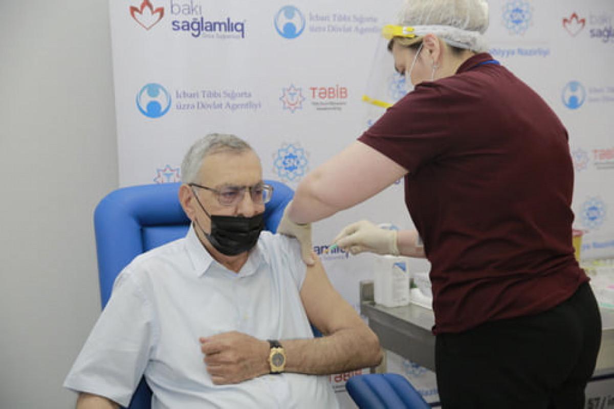 Начался процесс вакцинации олимпийской сборной Азербайджана