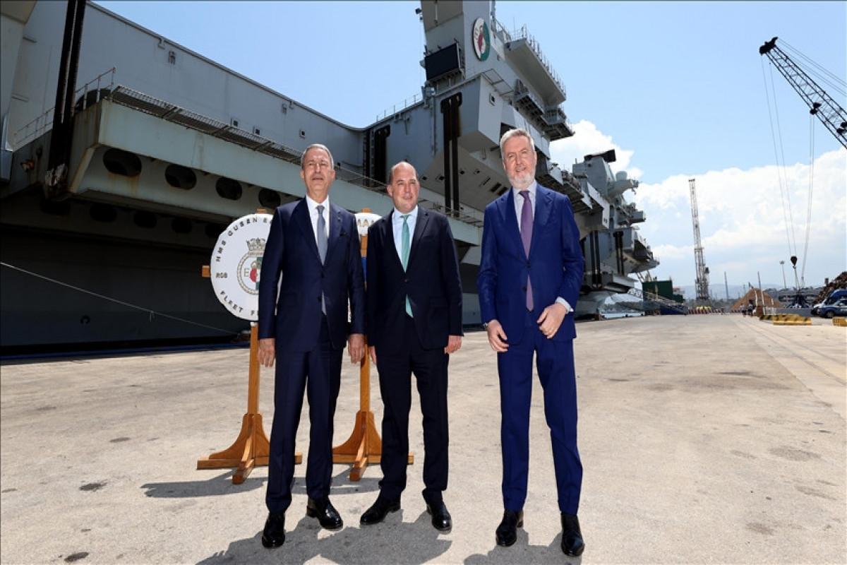 Turkish, British, Italian defense chiefs meet in Sicily