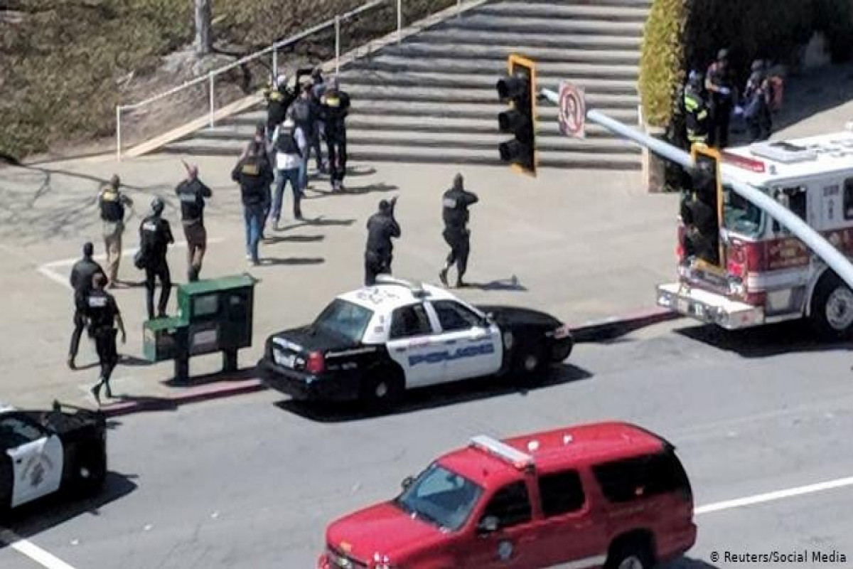 ABŞ-da atışma nəticəsində 2 nəfər ölüb, 7 nəfər yaralanıb