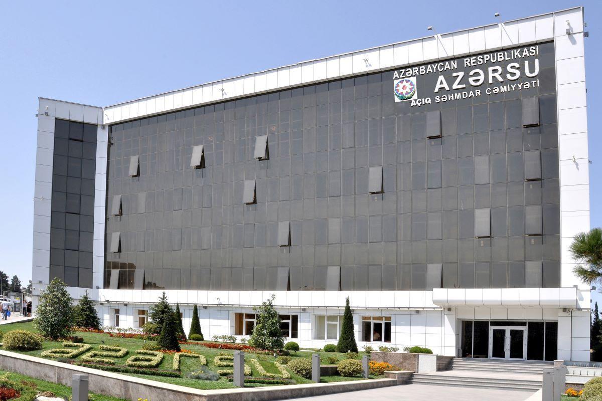 """AVRO-2020 ilə əlaqədar """"Azərsu"""" gücləndirilmiş iş rejiminə keçib"""