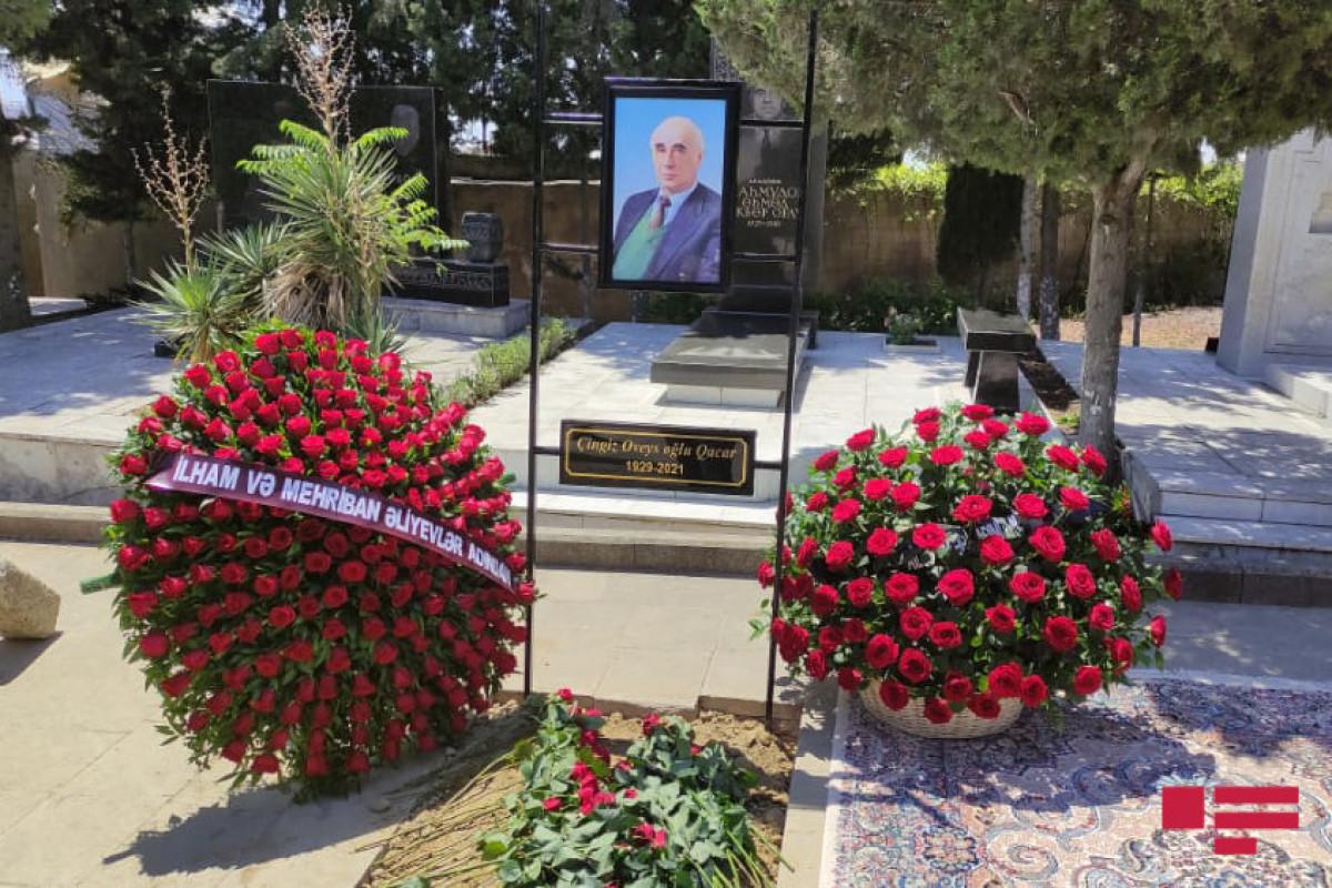 Президент Ильхам Алиев и первая леди отправили венок  на похороны Чингиза Гаджара