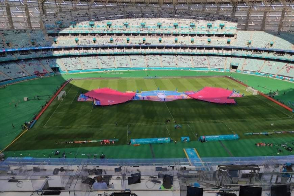 Состоялась церемония открытия бакинских игр Евро-2020