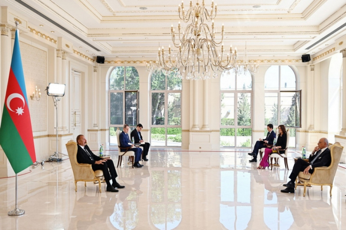 Azerbaijani President: We will find other areas in order to expand our trade turnover with Italy
