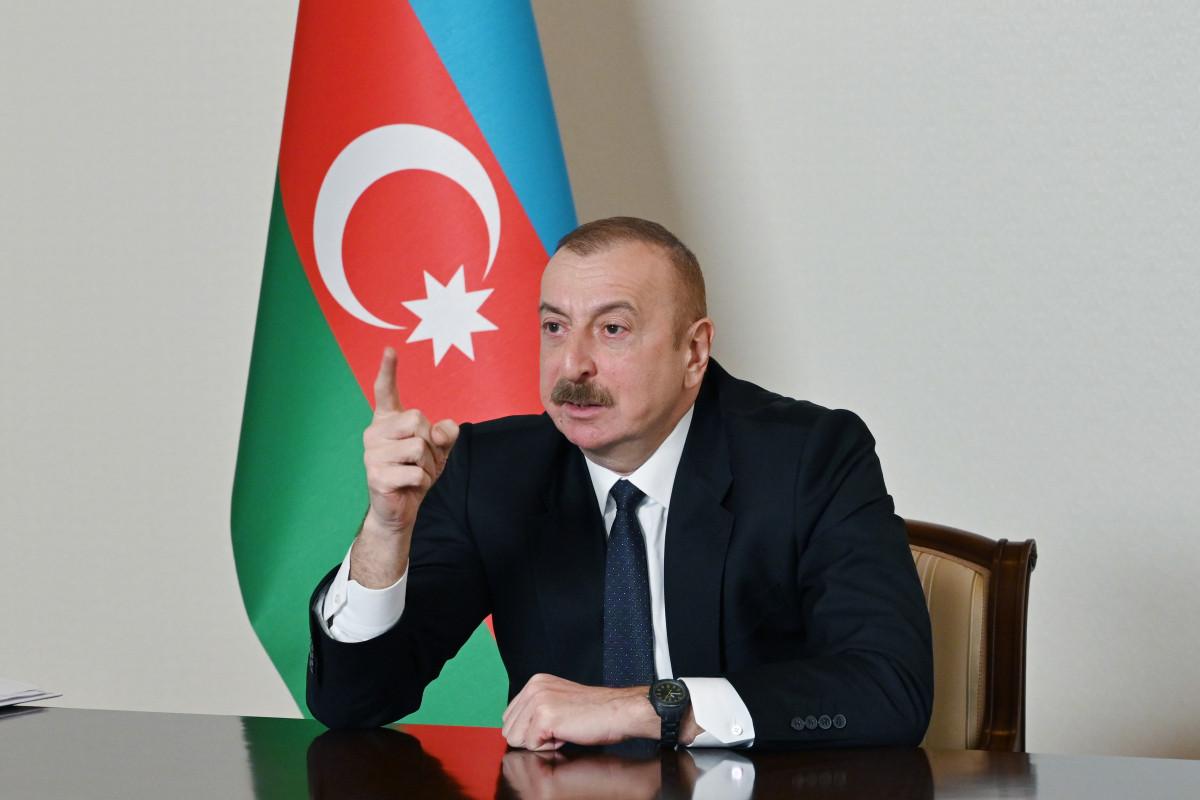 Azerbaijani President: If Armenia wants peace they need to start negotiation with us on delimitation
