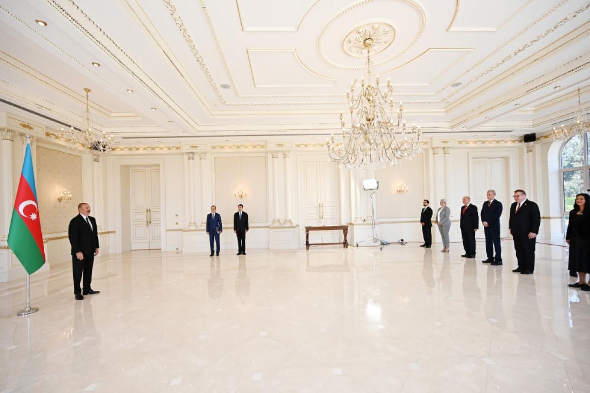 """Президент Ильхам Алиев: Если Армения желает мира, они должны начать с нами переговоры о делимитации-<span class=""""red_color"""">ВИДЕО"""