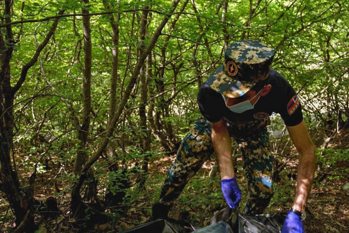 Remains of 8 more Armenian servicemen found in liberated lands from occupation