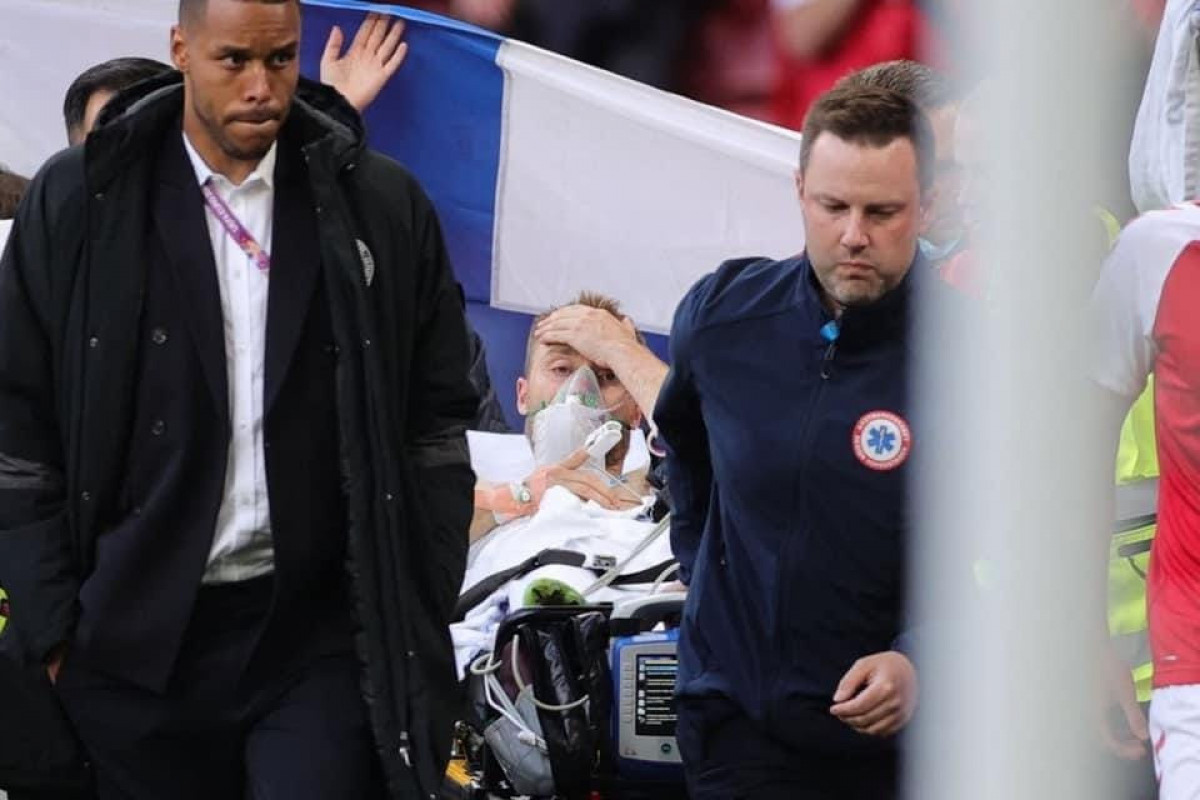"<span class=""red_color"">Евро-2020: Кристиан Эриксен пришел в себя"