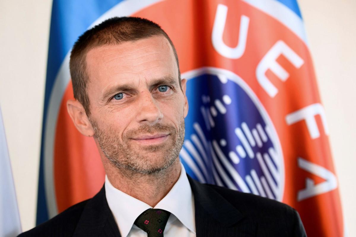 """UEFA prezidenti: """"Futbol gözəldir və Kristian da onu gözəl oynayır"""""""