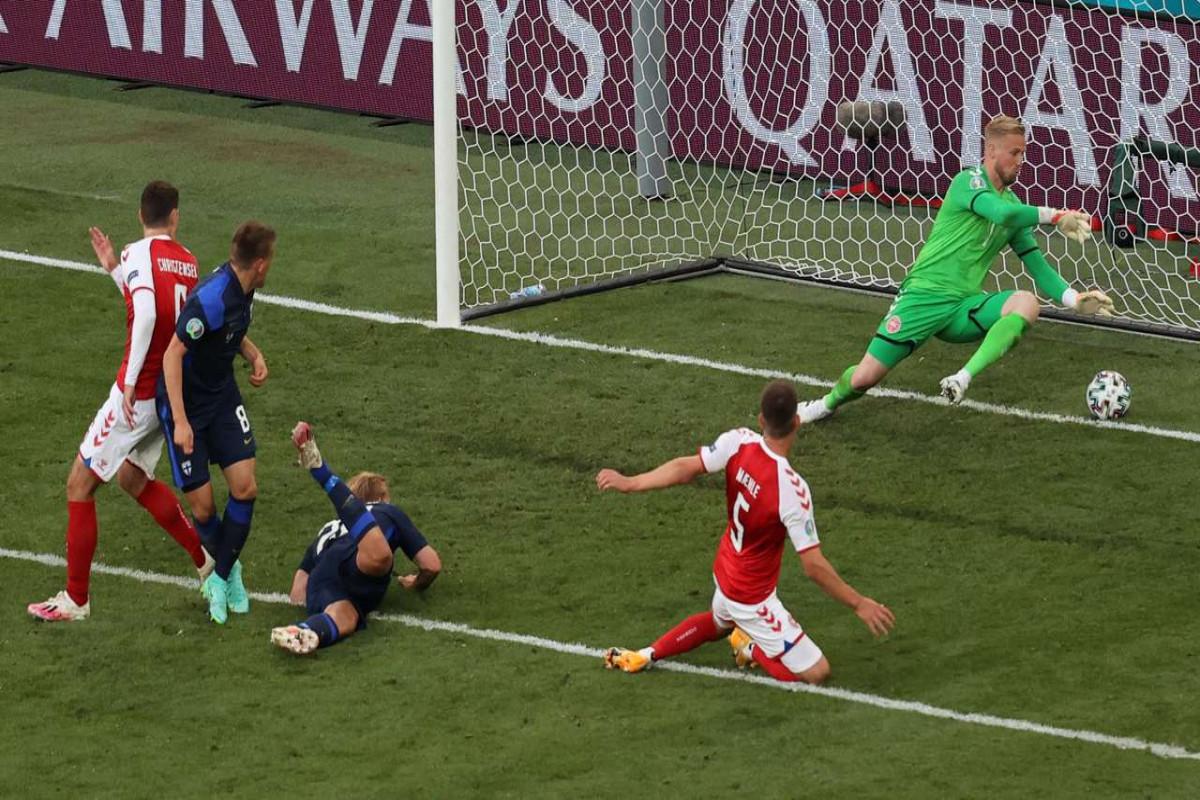 """<span class=""""red_color"""">AVRO-2020: Finlandiya Danimarkaya qalib gəlib"""