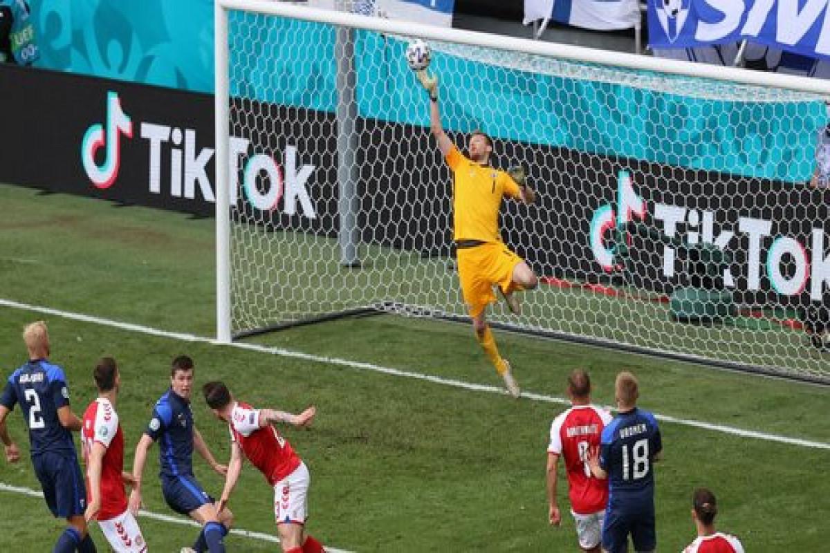 "<span class=""red_color"">Евро-2020: Матч Дания — Финляндия возобновился"