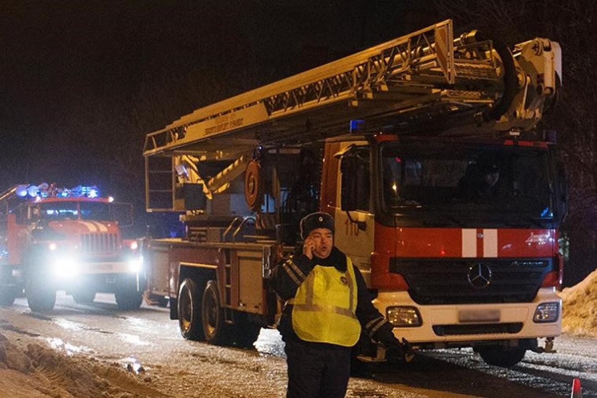 Rusiyada evin yanması nəticəsində 3 nəfər ölüb