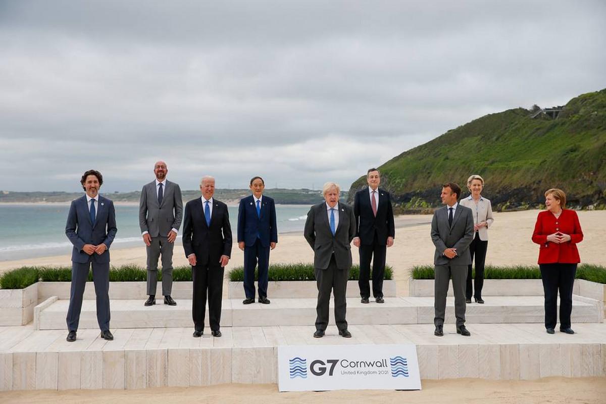 Лидеры G7 приняли итоговое заявление саммита