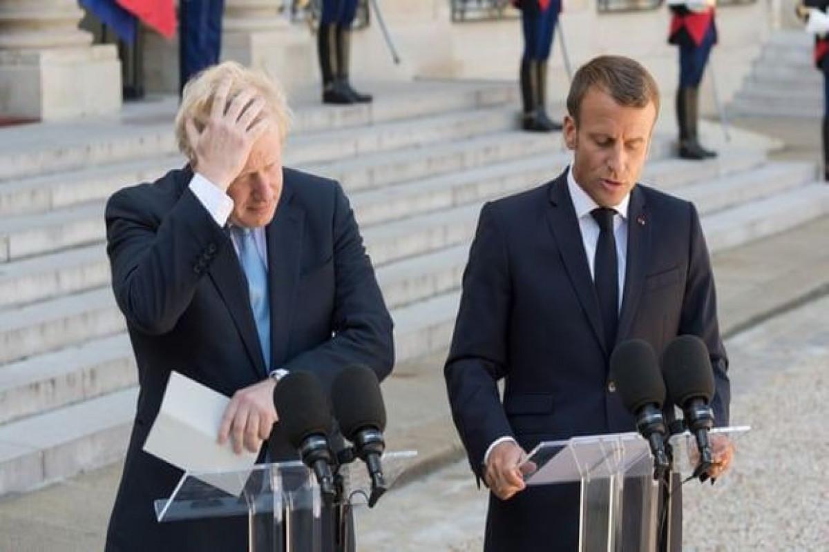 G7 zirvəsində Fransa prezidenti ilə Britaniyanın baş naziri arasında mübahisə yaranıb