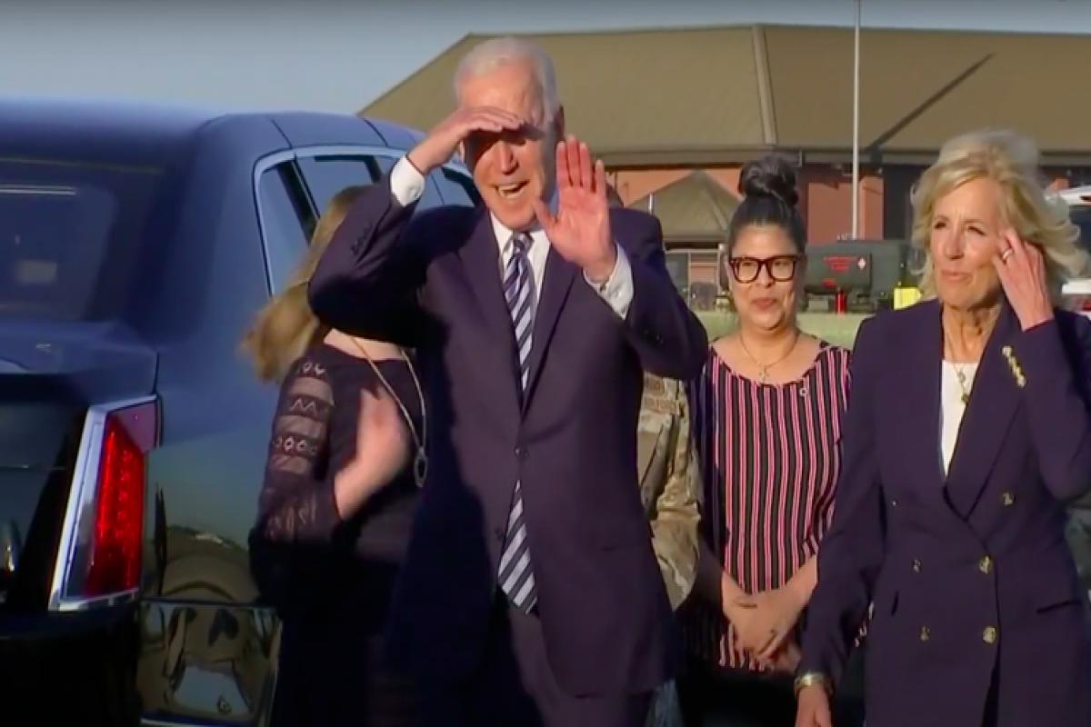 Байден прилетел в Бельгию для участия в саммитах НАТО и ЕС