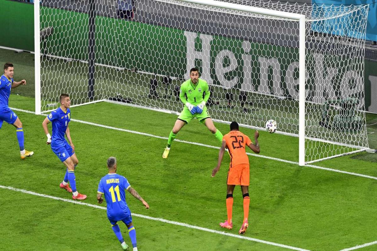 "<span class=""red_color"">Евро-2020: Украина уступила Нидерландам"
