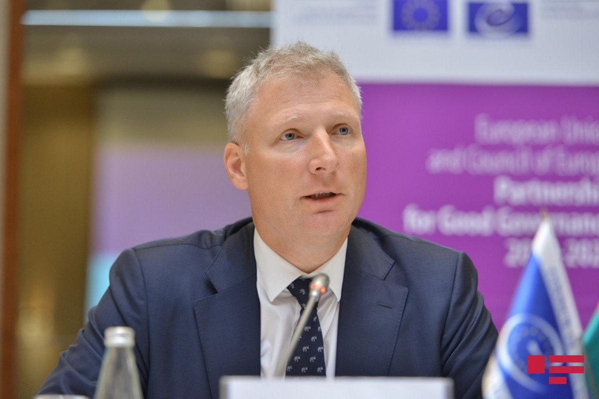 """Ambassador: """"Participation of EU in process of providing landmine maps is sample of our partnership with Azerbaijan"""""""