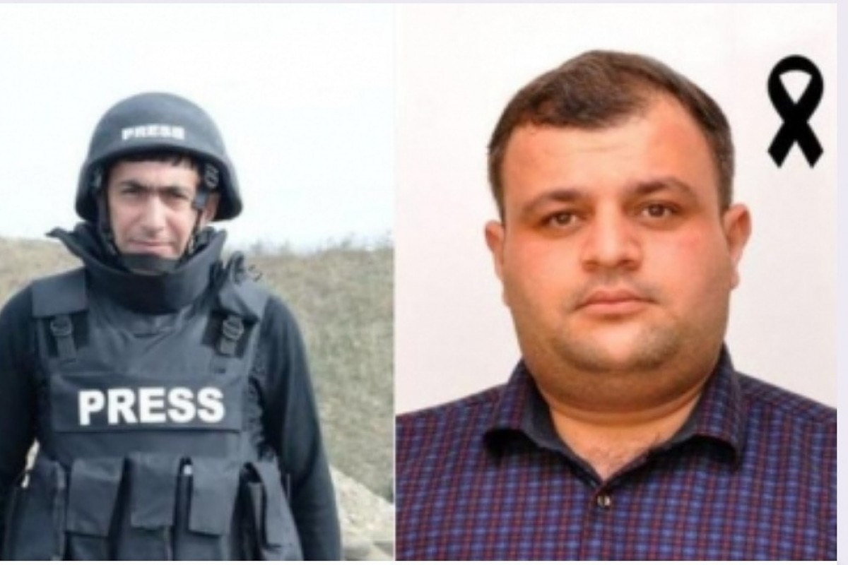 """Azerbaijani journalists, martyred in Kalbajar awarded the 3rd degree """"For Service to the Fatherland"""" order"""