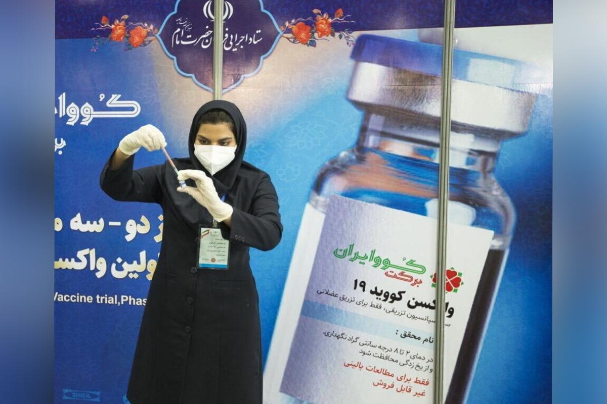 Iran allows rollout of local COV-Iran Barakat vaccine