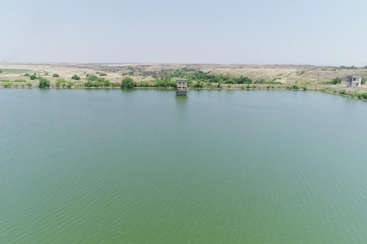 President Ilham Aliyev visited Ashaghi Kondalanchay reservoir in Fuzuli district