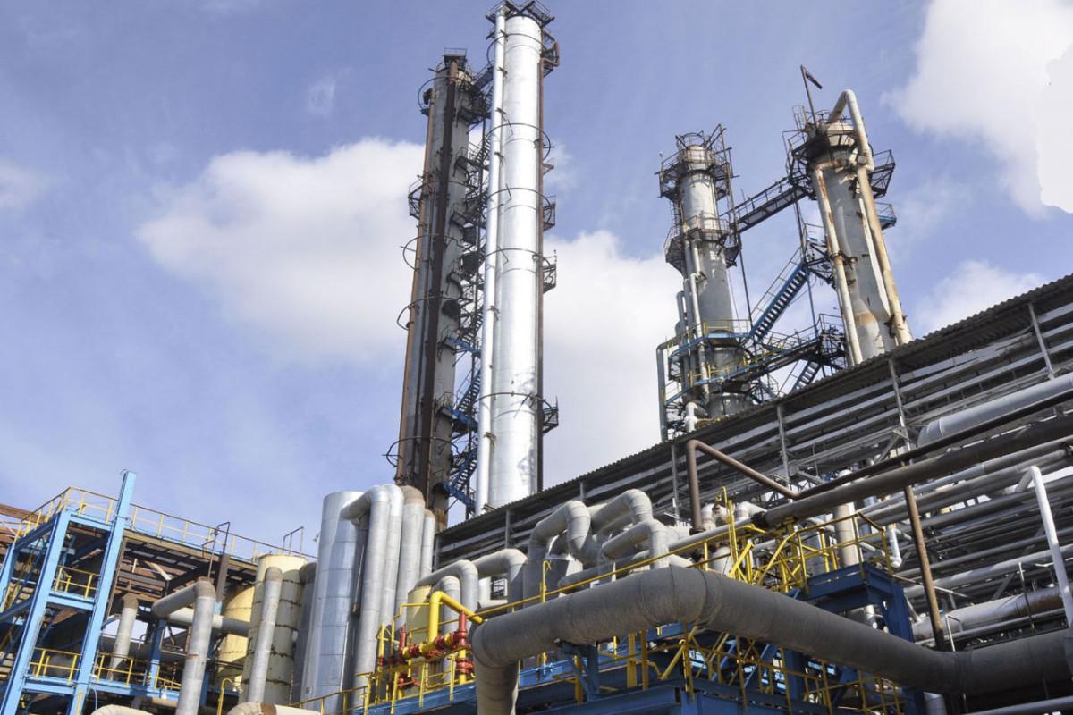 В Азербайджане производство нефтепродуктов выросло на 3%